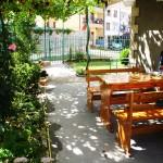 Място за отдих, градина